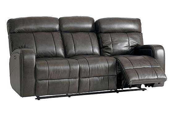 Beaumont Leather Sofa (Club Level)