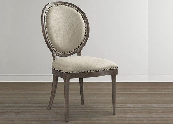 Picture of Artisanal Oval Back Side Chair