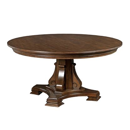 Stellia 60 inch Pedestal Table