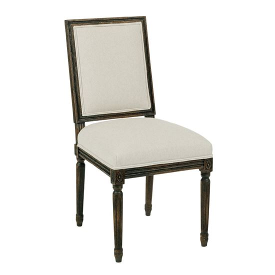 French Side Chair (Black Forest)
