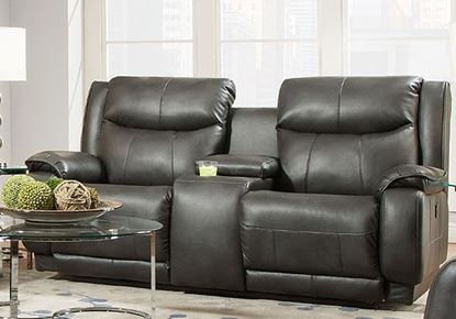 Picture of 875 Velocity Loveseat with Console