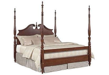 Hadleigh Rice Carved Bed  (607-326-327)