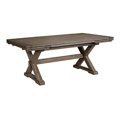 Foundry Saw Buck Dining Table 59-056