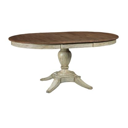 Weatherford - Milford Dining Table with Cornsilk finish