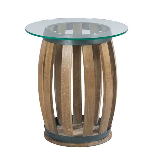 Picture of Wine Barrell Accent Table