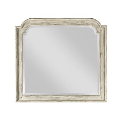 Weatherford - Westland Mirror with cornsilk finish