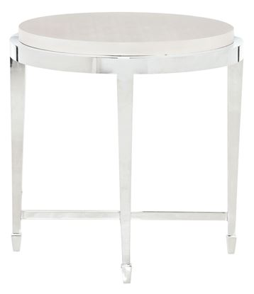 Criteria Round End Table