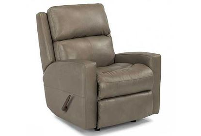Picture of Catalina Swivel Leather Gliding Recliner