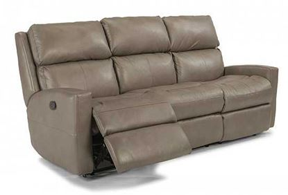 Picture of Catalina Leather Reclining Sofa