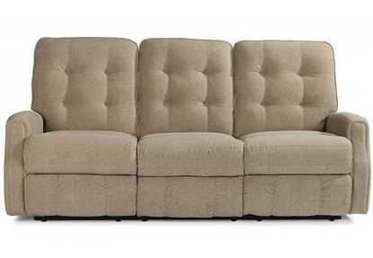 evon Leather Reclining Sofa 3882-62