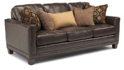 Port Royal Leather Sofa Model 1373-31
