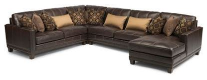 Port Royal Leather Sectional Model 1373