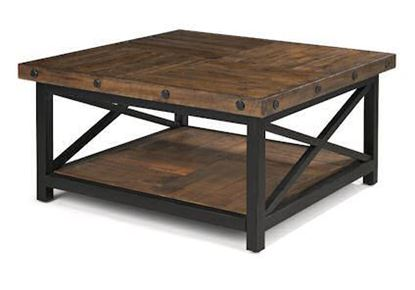 Picture of Carpenter Square Cocktail Table 6722-032