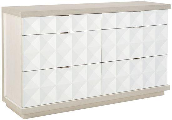 Axiom Six Drawer Dresser 381-050