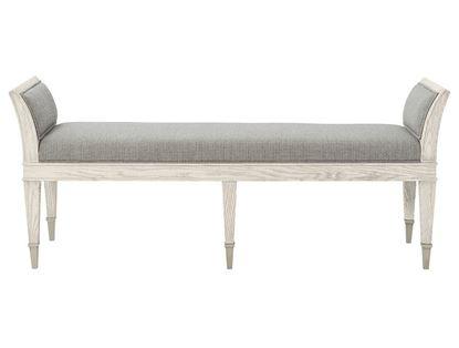 Domaine Blanc Upholstered Bench 374-508