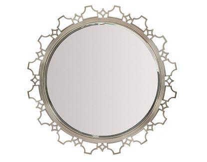 Domaine Blanc Round Mirror 374-333
