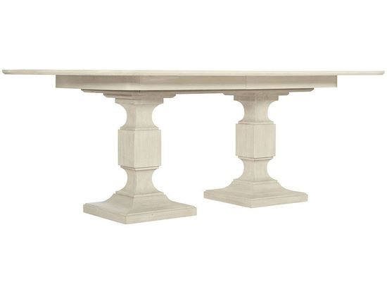 East Hampton Double Pedestal Dining Table (395-242-244)