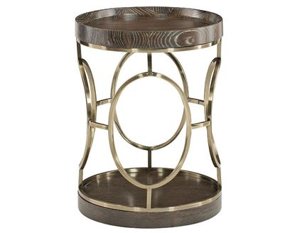 Clarendon Round Accent Table 377-113
