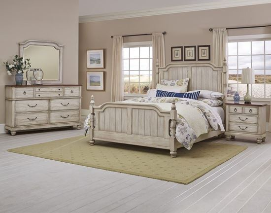 Arrendelle Bedroom Collection - 440-442 in White finish