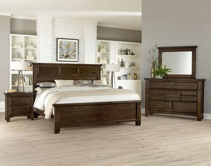 Sawmill Bedroom Collection in a Louvered finish