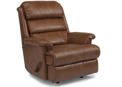 Yukon Leather Swivel Glider Recliner (3209-530)