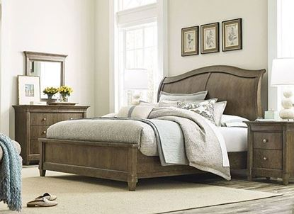 Anson Bedroom Collection with Ashford Panel Bed by American Drew furniture