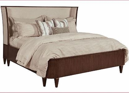 Morris Upholstered Queen Bed 929-324R from the American Drew Vantage Collection
