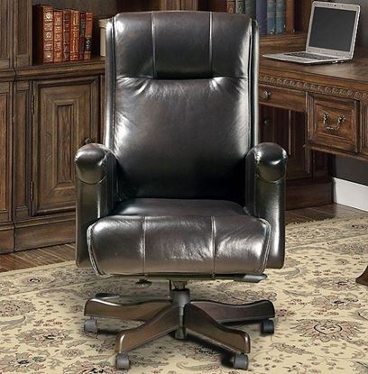 Prestige 103 Leather Sable Chair