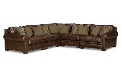 Bernhardt - Grandview Leather Sectional