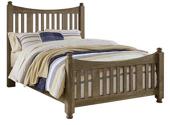 Maple Road Poster Slat Bed