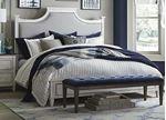 Bella Upholstered Panel Bed