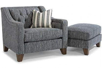 Sullivan Fabric Chair & Ott