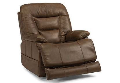 Flexsteel - Stanford Power Leather Recliner