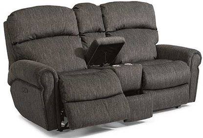 Langston Power Reclining Loveseat with Console