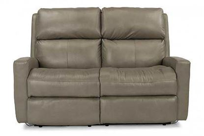 Catalina Reclining Leather Loveseat