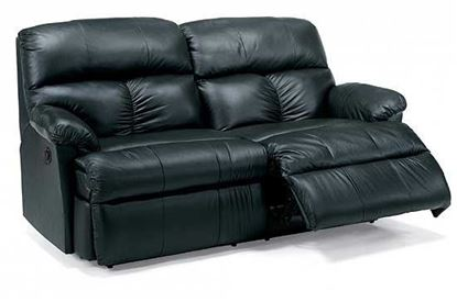 Triton Leather Studio Sofa