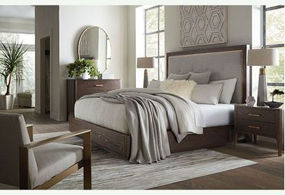 Bassett - Modern Bedroom with Astor Bed