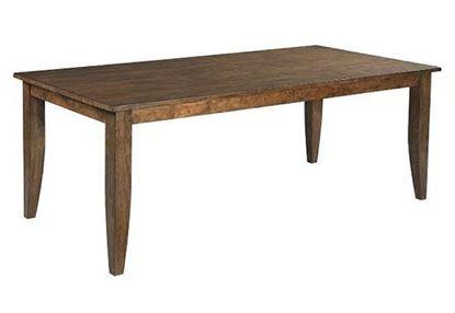 "Nook Maple 80"" Rectangular Dining Table"
