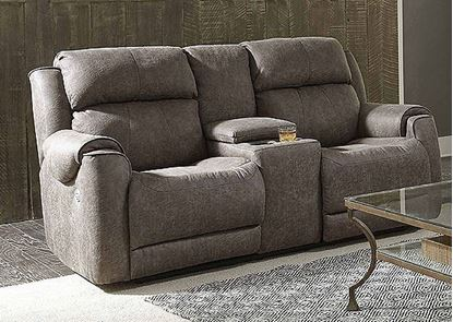 Safe Bet Loveseat with console