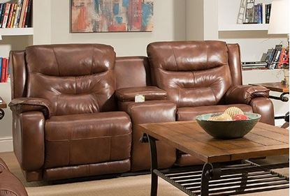 874 Cresent Loveseat with Console