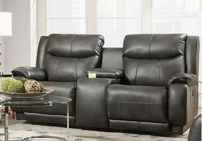 875 Velocity Loveseat with Console