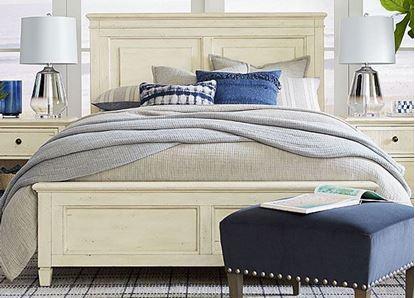 Shoreline Panel Bed - 2951-KS159