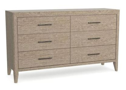 Tobago Six Drawer Dresser with Lemon Grass finish