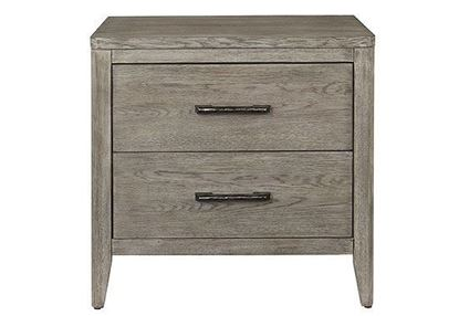 Tobago Two Drawer Nightstand in Lemon Grass finish