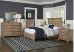 Scotsman Co. American Heirloom Bedroom with Seagrass Headboard