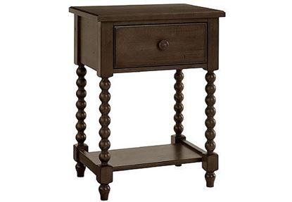 American Heirloom Night Table in Molasses finish